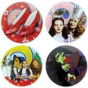 Wizard of Oz Coaster 4-Pack