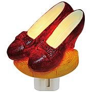 Wizard of Oz Ruby Slippers Night Light