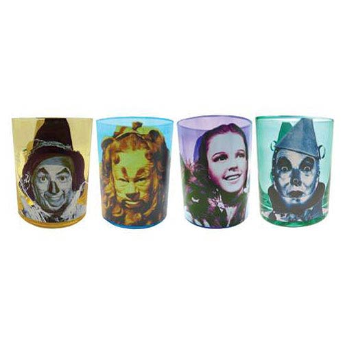 Wizard of Oz 12 oz. Drinking Glass 4-Pack
