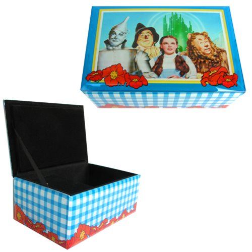 Wizard of Oz Four Friends Glass Music Box