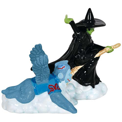 Wizard of Oz Wicked Witch and Monkey Salt and Pepper Shakers