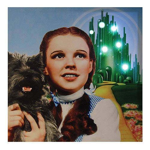 Wizard of Oz Dorothy and Toto Light-Up Canvas Print