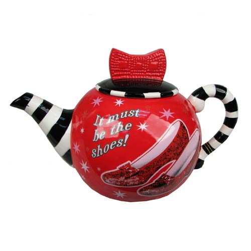 Wizard of Oz Ruby Slippers 35 oz. Teapot