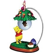 Winnie the Pooh Beehive Pooh and Piglet Mini Water Globe