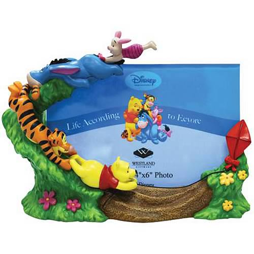 winnie the pooh kite flying gang picture frame - Winnie The Pooh Picture Frame