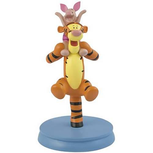 Winnie the Pooh Tigger and Piglet Statue