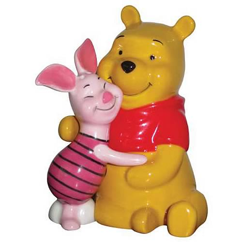 Winnie the Pooh Piglet & Pooh Salt and Pepper Shaker Set