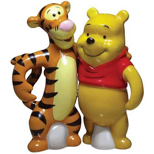 Winnie the Pooh Tigger & Pooh Salt and Pepper Shaker Set