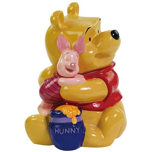 Winnie the Pooh Hugging Piglet Cookie Jar
