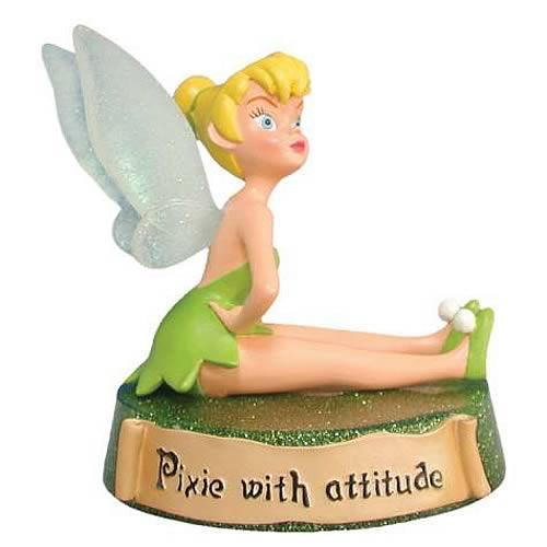 Disney Fairies Tinker Bell Pixie With Attitude Mini Statue