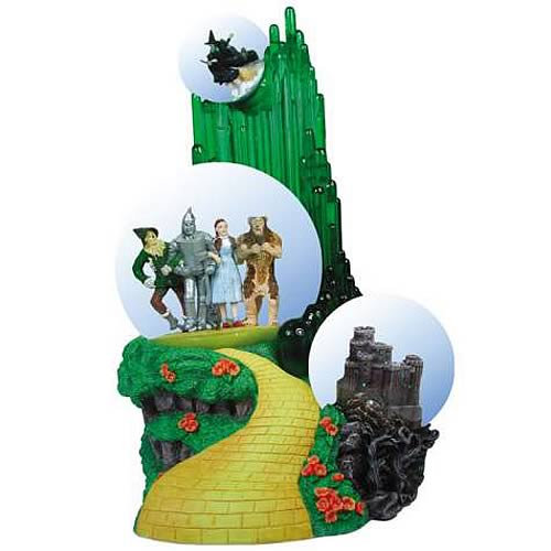 Wizard of Oz Emerald City Triple Water Globe