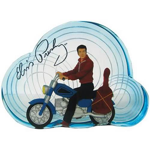 Elvis Presley Motorcycle Mini Statue