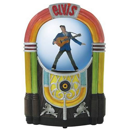 Elvis Presley Jukebox Water Globe