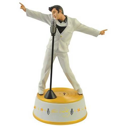 Elvis Presley Elvis with Microphone Statue