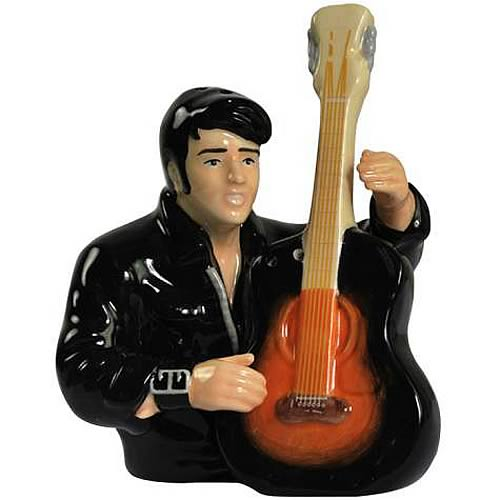 Elvis Presley with Guitar Salt and Pepper Shaker Set