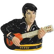 Elvis Presley with Guitar Cookie Jar