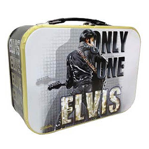 Elvis Presley Only One Elvis Tin Tote