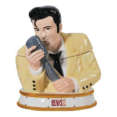 Elvis Presley Serenade Cookie Jar