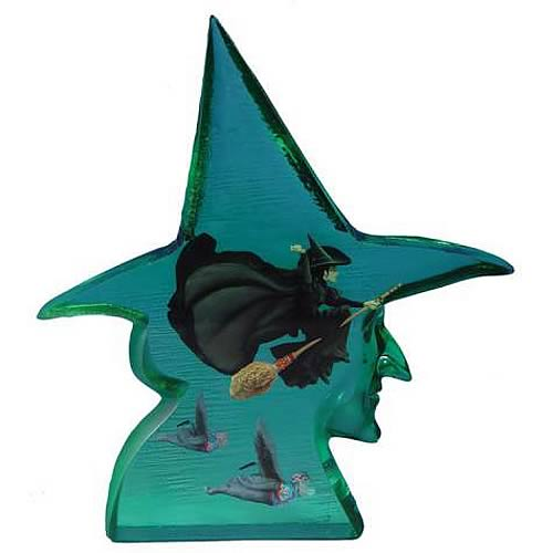 Wizard of Oz Wicked Witch of the West Clear Resin Statue
