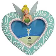 Disney Fairies Tinker Bell Heart Pixie Picture Frame