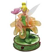 Disney Fairies Tinker Bell Pretty as a Daisy Mini Statue