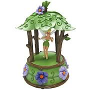 Disney Fairies Tinker Bell Woodland Cabana Musical Statue