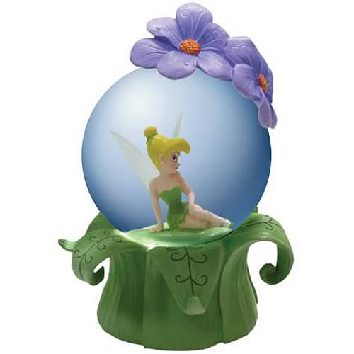 Disney Fairies Tinker Bell Pixie Paradise Water Globe