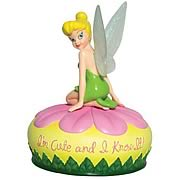 Disney Fairies Tinker Bell I'm Cute Musical Mini Statue