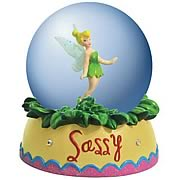 Disney Fairies Tinker Bell Sassy Water Globe
