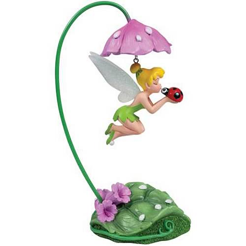 Disney Fairies Tinker Bell Ladybug Hanging Figure Statue