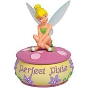 Disney Fairies Tinker Bell Perfect Pixie Trinket Box