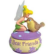 Disney Fairies Tinker Bell Best Friends Trinket Box