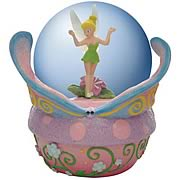 Disney Fairies Tinker Bell Butterfly Water Globe