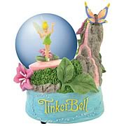 Disney Fairies Tinker Bell Waterfall Water Globe