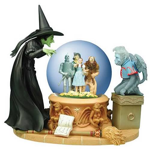 Wizard of Oz Wicked Witch Crystal Ball Water Globe