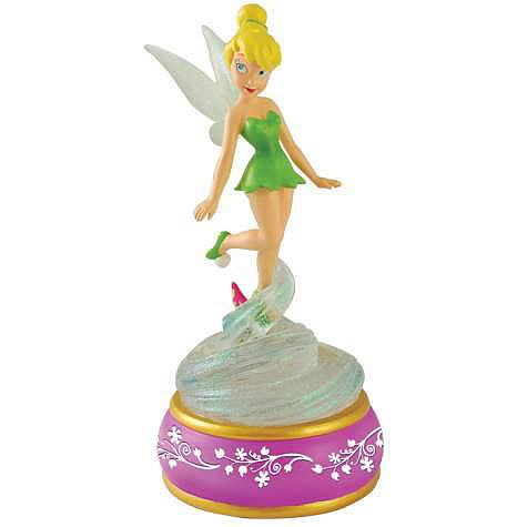 Tinker Bell Pixie Trail Musical Statue