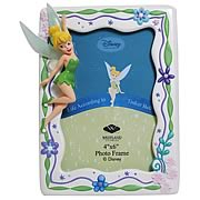 Peter Pan Tinker Bell Pastel Flowers Picture Frame
