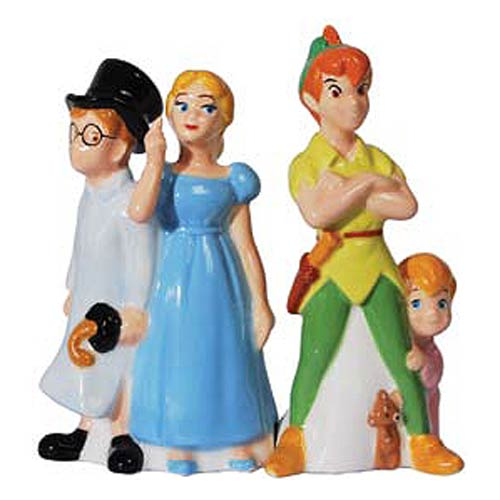 Peter Pan and Friends Salt and Pepper Shakers