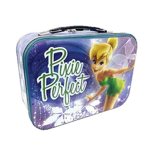 Disney Fairies Tinker Bell Pixie Perfect Tin Tote Lunch Box