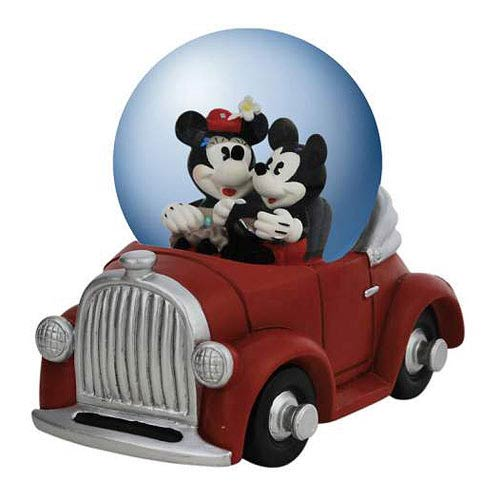 Mickey and Minnie Mouse's Joy Ride Water Globe