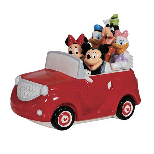 Mickey Mouse and Friends Road Trip Cookie Jar