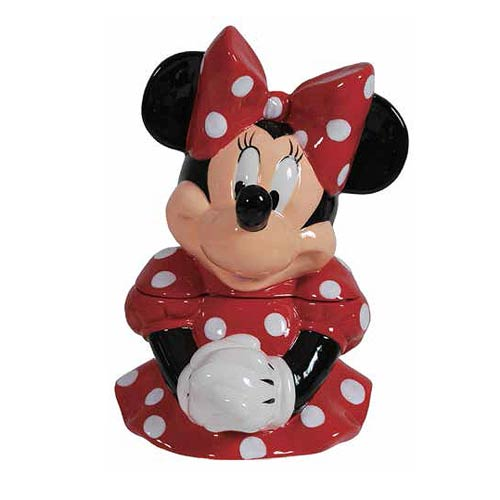 Disney Minnie Mouse Cookie Jar