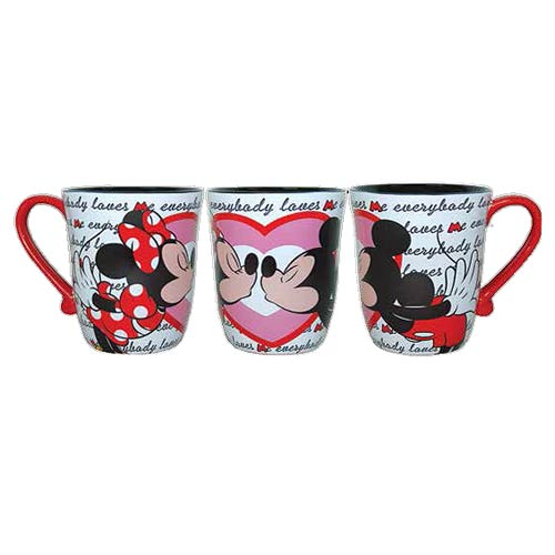 Disney Mickey and Minnie Mouse Kisses 14 oz. Mug