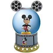 Disney Mickey Mouse Film Roll Water Globe
