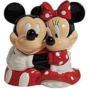 Disney Mickey and Minnie Mouse Hugging Cookie Jar