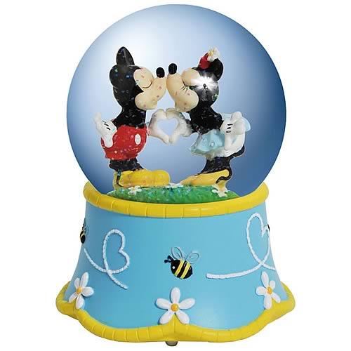 Disney Mickey & Minnie Mouse Bee My Honey Bee Water Globe