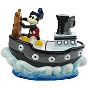 Steamboat Willie Mickey Mouse Cookie Jar