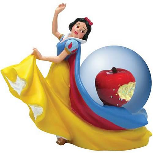Snow White Apple Water Globe