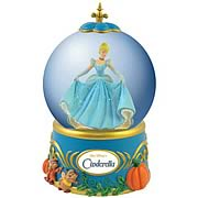 Cinderella Night Out Water Globe