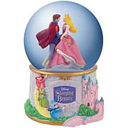 Sleeping Beauty Castle Water Globe